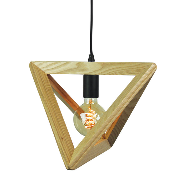 Marlow 36cm Scandi Timber Pendant