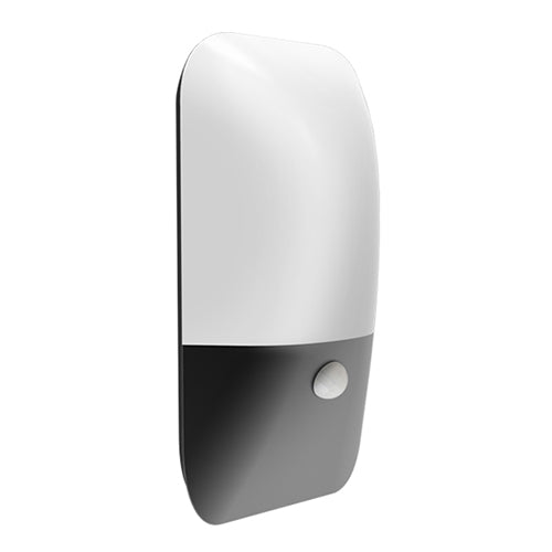 Modo 22cm Modern Exterior LED Wall Light with Sensor