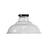 Classic 35cm Clear Glass Shade and Gallery