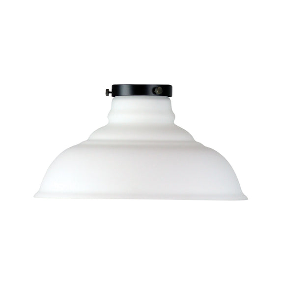 Classic 35cm Opal Glass Shade and Gallery