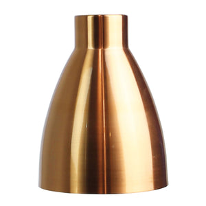 Vintage 15cm Brushed Copper DIY Shade
