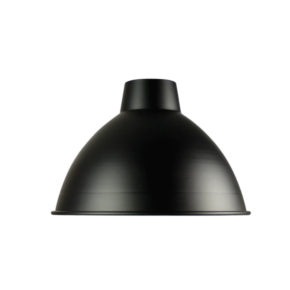 Black 47cm Industrial Style Shade