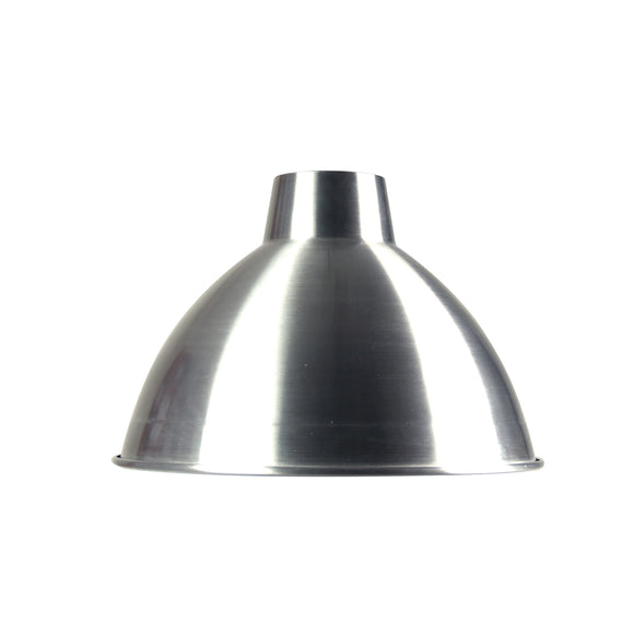 Polished Aluminium 47cm Industrial Style Shade