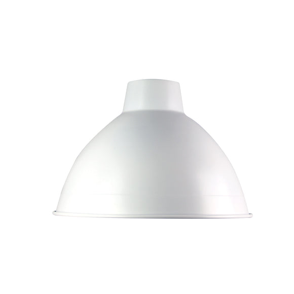 White 47cm Industrial Style Shade