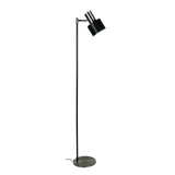 Diaz Mid-Century Floor Lamp 150cm in Brushed Chrome or Copper