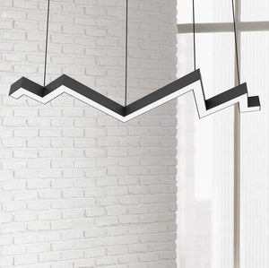 Bolt Abstract 150cm Linear Suspension Pendant