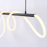 Curl Curl XLarge Adjustable 300cm Linear Suspension Pendant