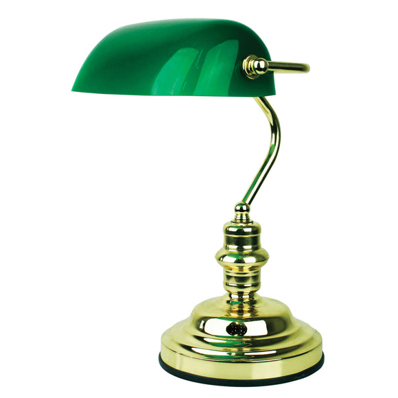Executive 3 Stage Touch Lamp in Polished Brass or Antique Brass