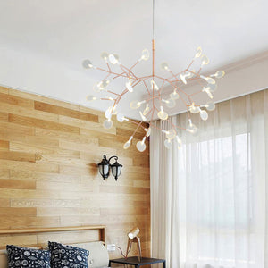 Moooi Heracleum Suspension Replica Light in Copper by Bertjan Pot 72cm in Warm White
