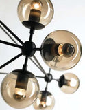 Roll & Hill Jason Miller Replica Modo Chandelier Light Black with 10 15 or 21 Lights