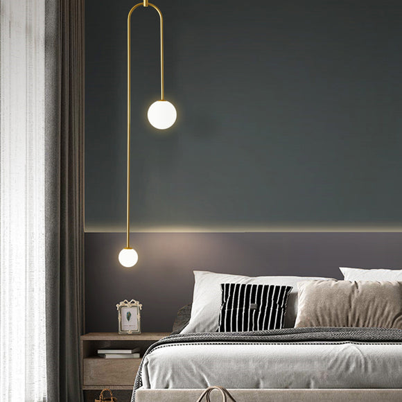Alsker Dual Arm Pendant Light in 7 Colour Finishes