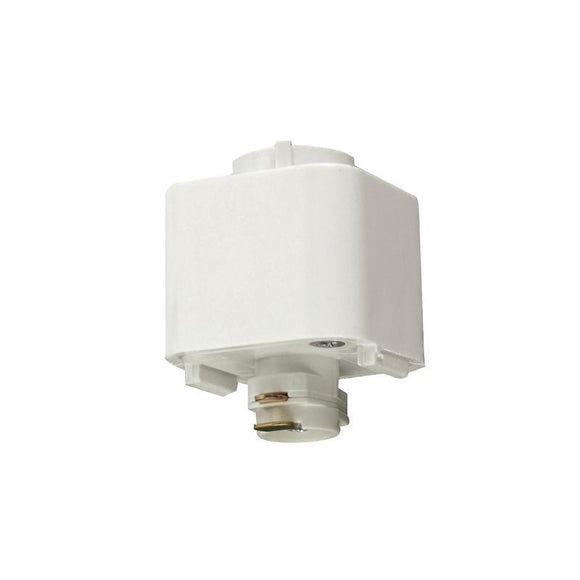 Elegant Single Circuit Pendant Light 240V Track Adaptor  in White or Black