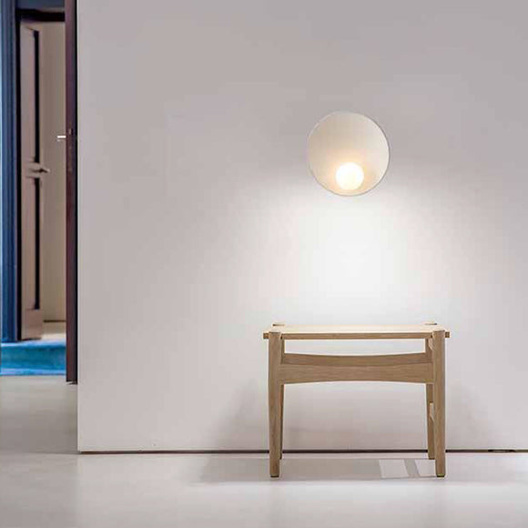 Pearl White Modern 23cm LED Wall Light
