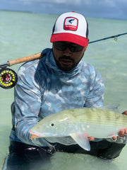 SBD SHRIMP FLY AZRIN IN COCOS KEELINMG ISLANDS GUIDE
