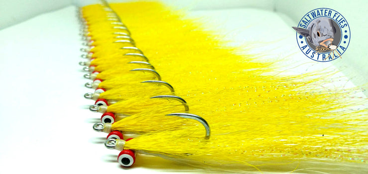 SWFA CLOUSER MINNOW FLY - BUCKTAIL - DOUBLE PUPIL EYE