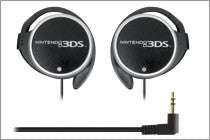 3DS HORI Ear Hook Headset