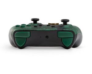 PowerA Enhanced Wireless Controller for Nintendo Switch – Link Silhouette