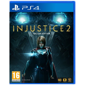 PS4 Injustice 2 Deluxe Edition with FREE Batman Cap +Magnet + $20 DC Super Heroes Cafe Discount Voucher