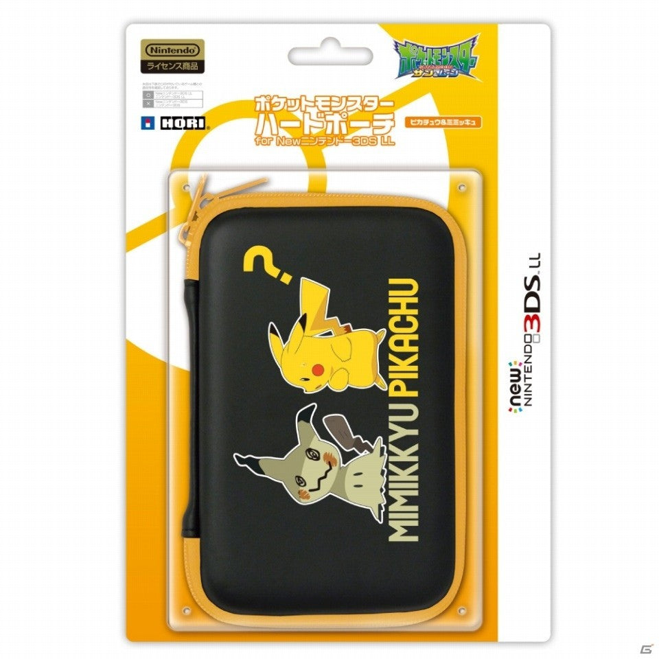 HORI Pokemon Hard Pouch For NEW 3DS LL/XL [Pikachu Mimikkyu]