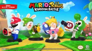 Mario + Rabbids Kingdom Battle - Figurines Collection (6'' inches / 16.5 cm)