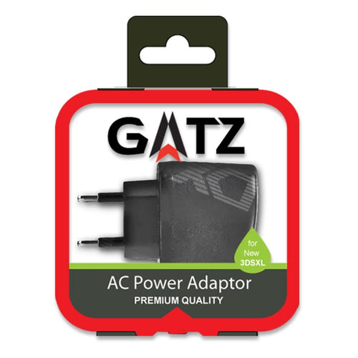 Gatz AC Adapter for New 3DS XL/3DS XL/3DS/2DS