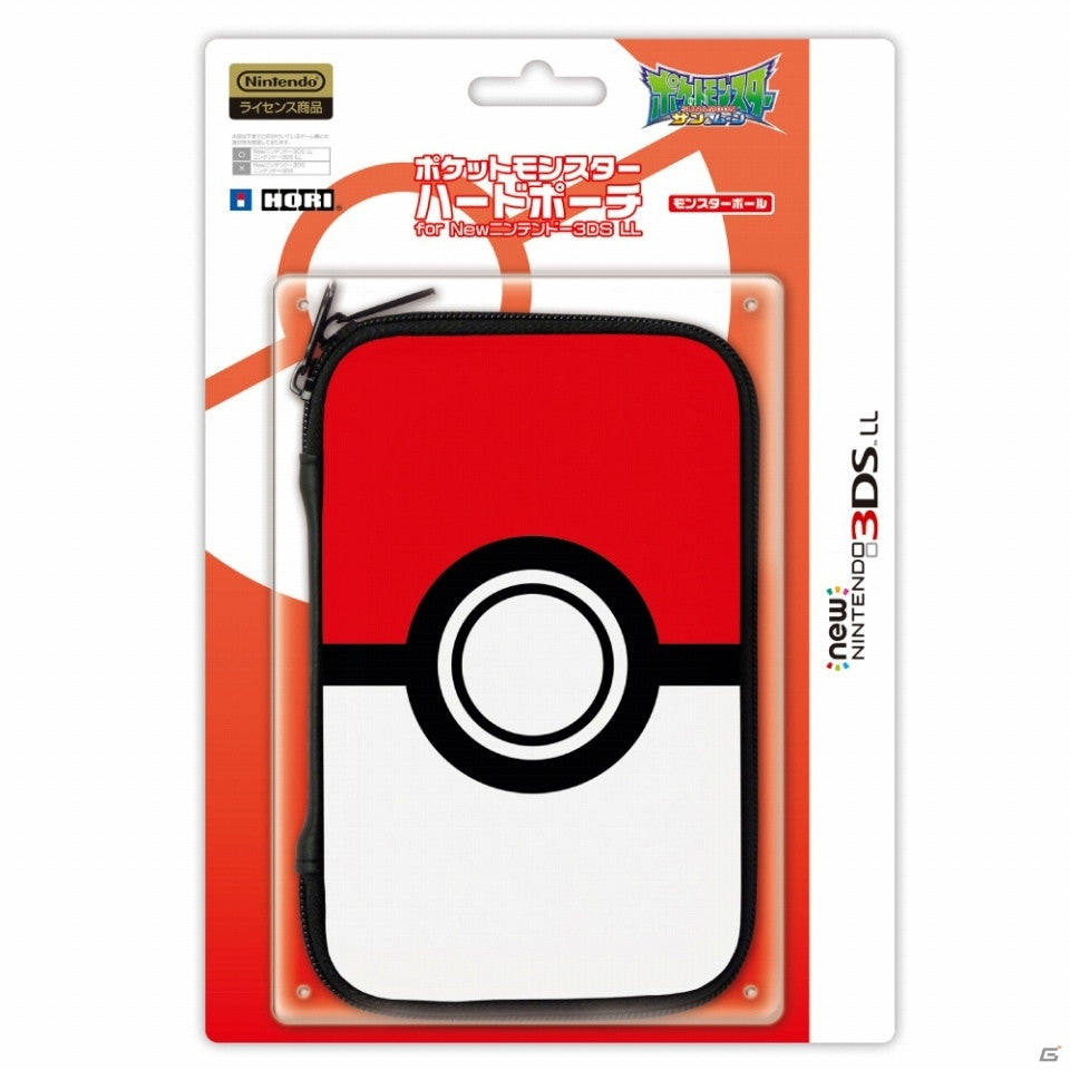 HORI Pokemon Hard Pouch For NEW 3DS LL/XL [Pokeball]