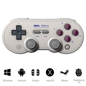 8Bitdo SN30 Pro Bluetooth GamePad - G Classic Edition
