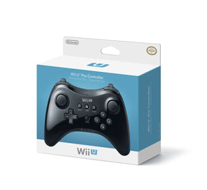 Wii U NINTENDO Official Pro Controller Black
