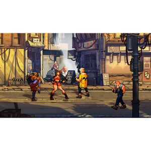 PS4 Streets Of Rage 4 / Bare Knuckle IV with Bonus Soundtrack