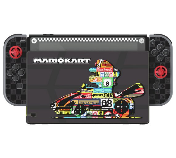 pdp nintendo switch screen protection n skis mario kart edition. Black Bedroom Furniture Sets. Home Design Ideas