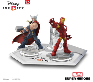 Wii U Disney INFINITY: Marvel Super Heroes (2.0 Edition) Starter Pack / R1 (English)