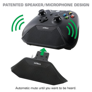 Nyko Speakercom for XBox One (Speaker / Microphone Chat Attachment)