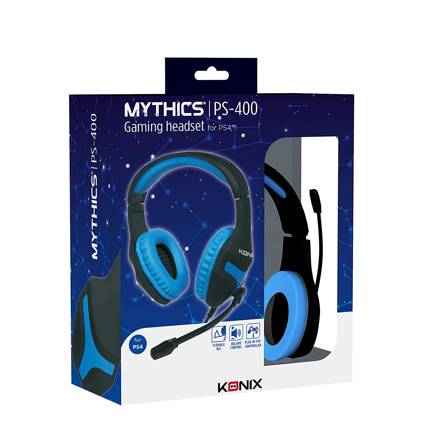 Konix Mythics PS-400 Gaming Headset (PS4/PC/Switch/XBox One)