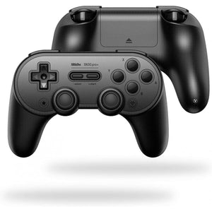8BitDo SN30 Pro+ Controller for Nintendo Switch (Black Edition)