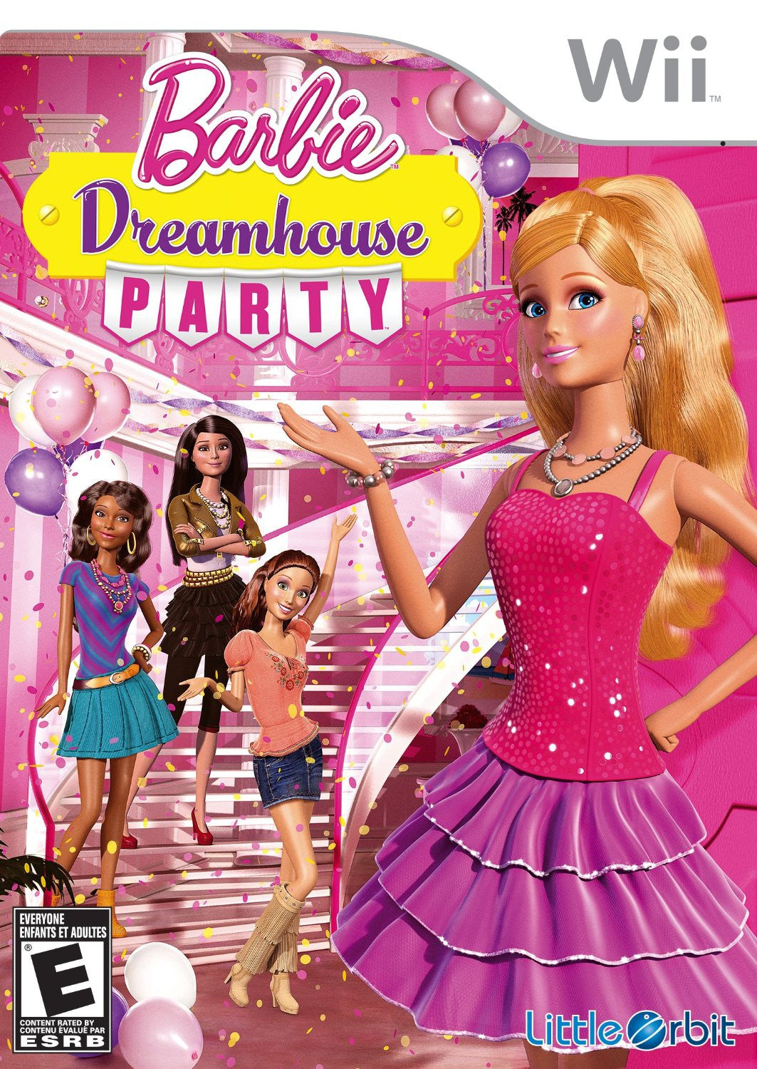 Wii Barbie Dreamhouse Party / US (English)