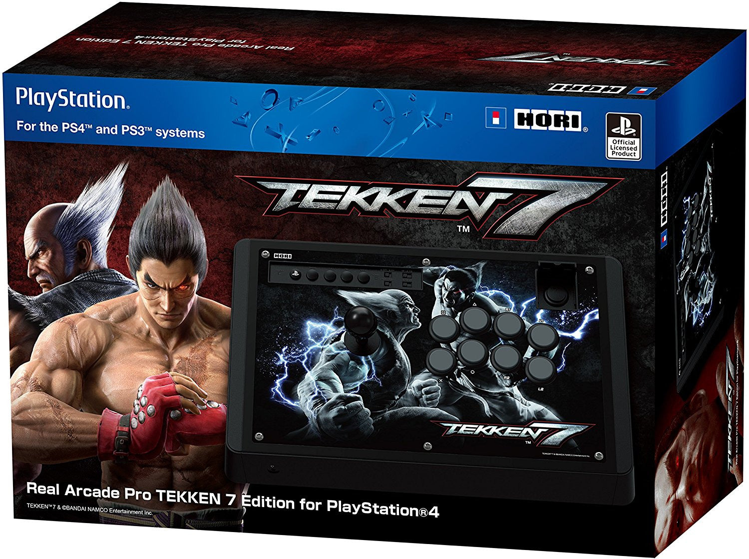 Hori Page 2 Real Arcade Pro Rap N Hayabusa For Pc Ps3 Ps4 Tekken 7 Stick