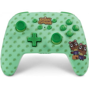 PowerA Enhanced Wireless Controller for Nintendo Switch - Animal Crossing