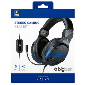 Bigben Stereo Gaming Headset V3 for PS4/PC/MAC