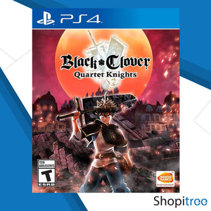 PS4 Black Clover: Quartet Knights