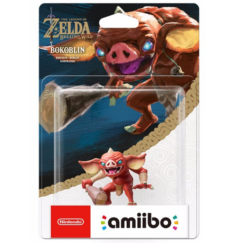 Amiibo The Legend of Zelda: Breath of the Wild Series Figure (Bokoblin)