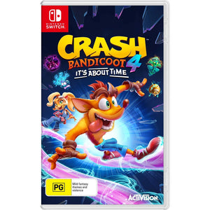 Nintendo Switch Crash Bandicoot 4: It's About Time