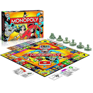 Monopoly DC Comics Retro Edition