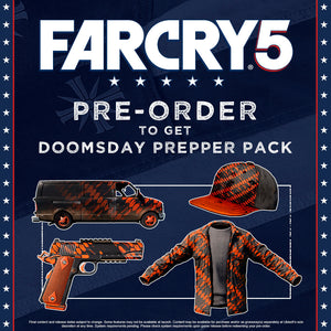 PS4 Far Cry 5 Deluxe Edition with Bonus DLC and EZ Link Card