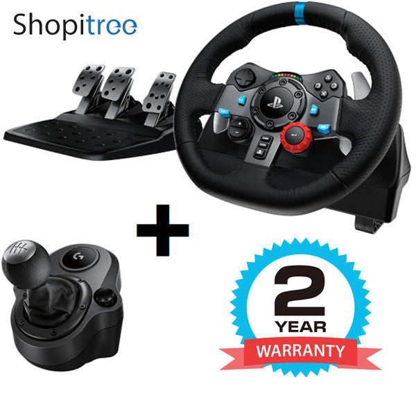 c6d851e0dce [GSS] Logitech / G G29 Driving Force Steering Wheel with Shifter (for  PS4/PS3/PC)