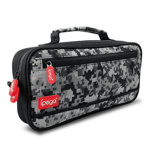 Ipega Camouflage Travel and Carry Case for Nintendo Switch
