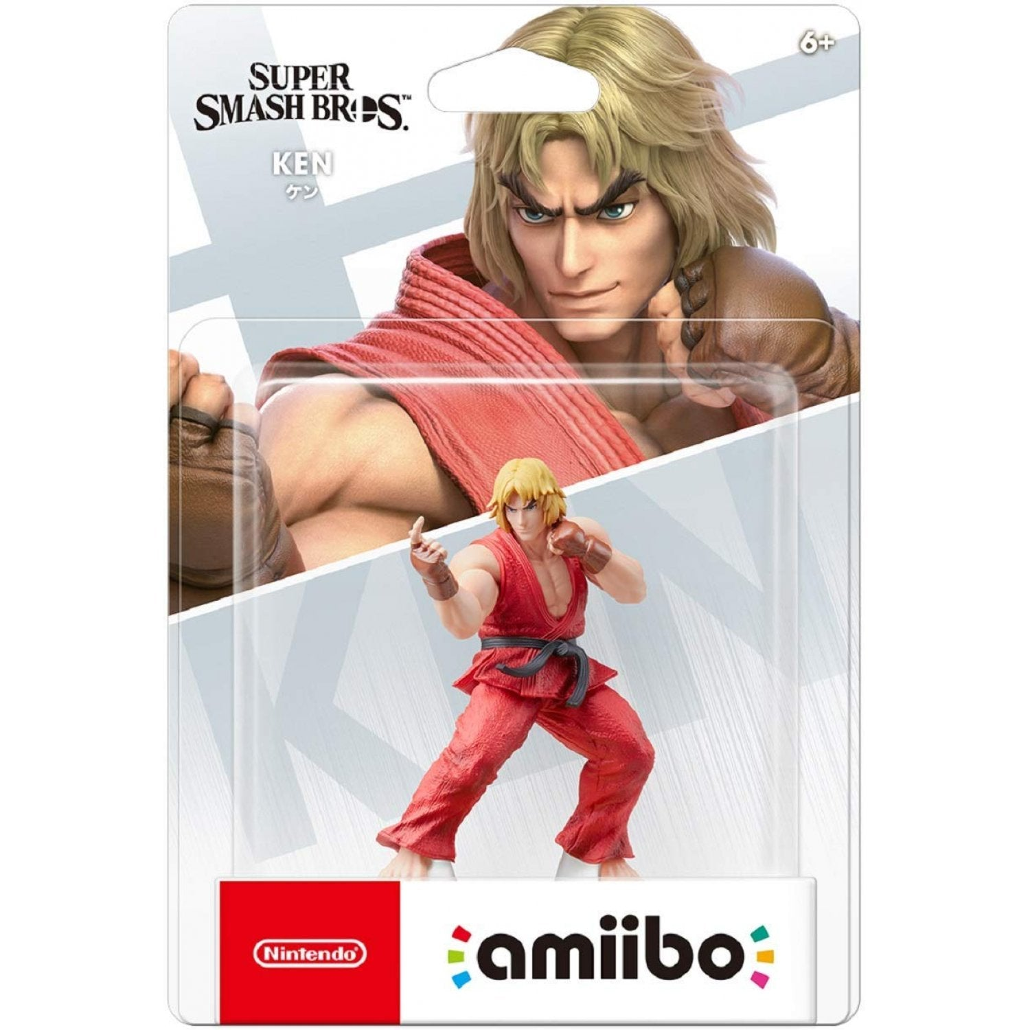 Amiibo Super Smash Bros Series Figure (Ken)