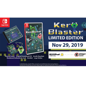 Nintendo Switch Kero Blaster Limited Edition