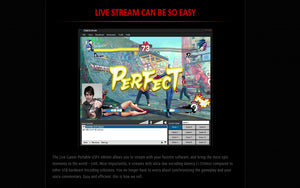 AVerMedia Live Gamer Portable Street Fighter IV Edition