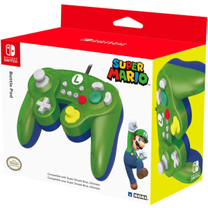 Hori Battle Pad (Luigi) Controller for Nintendo Switch (Wired)