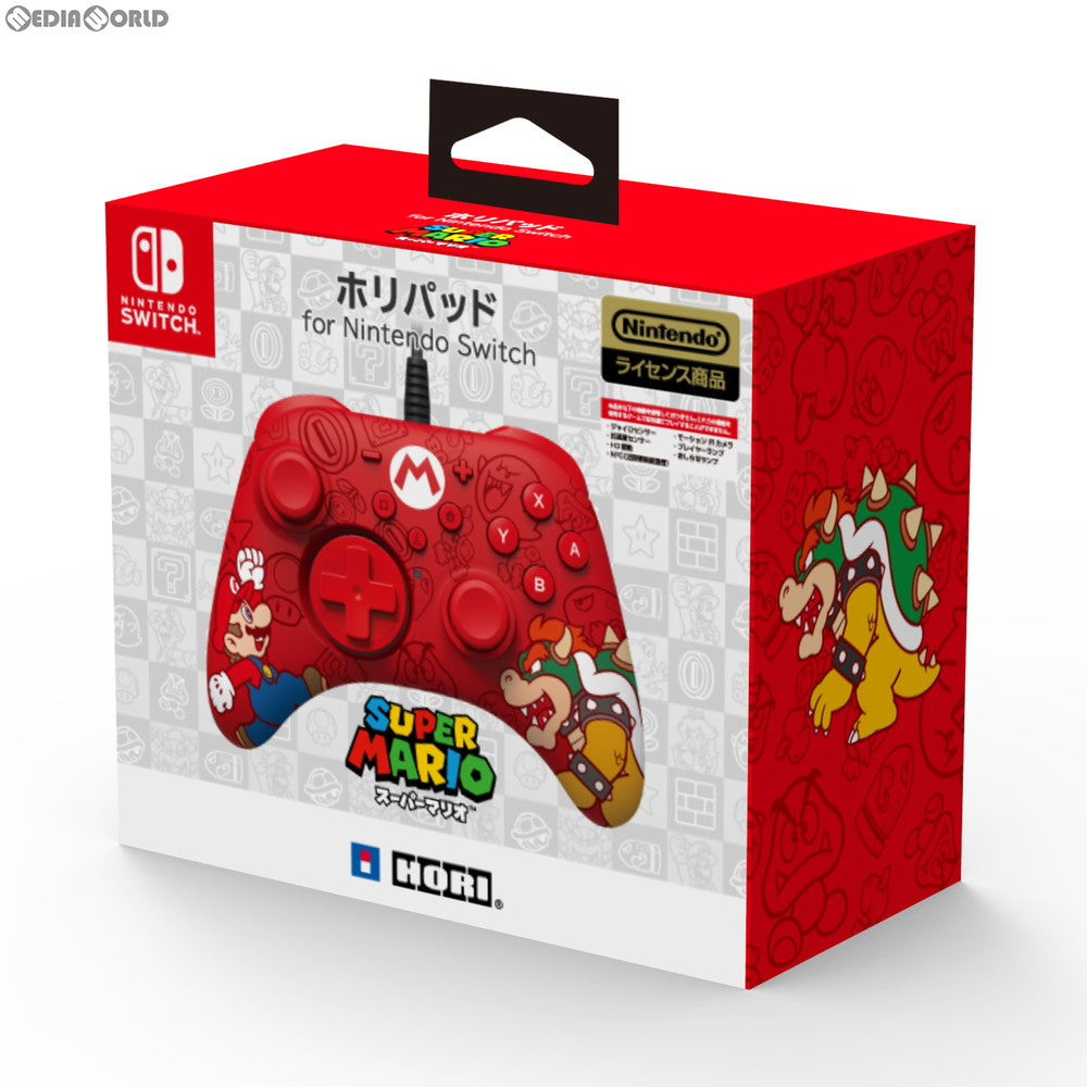 Hori Pad for Nintendo Switch (Super Mario)
